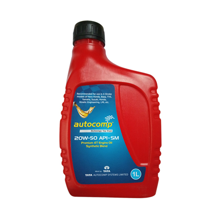 TATA Autocomp 4T Engine Oil 20w50 SM